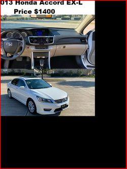 ֆ14OO_2013 Honda Accord EX-L for Sale in Rochester,  NY