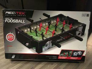 Brand New light up portable Foosball table for Sale for sale  New York, NY