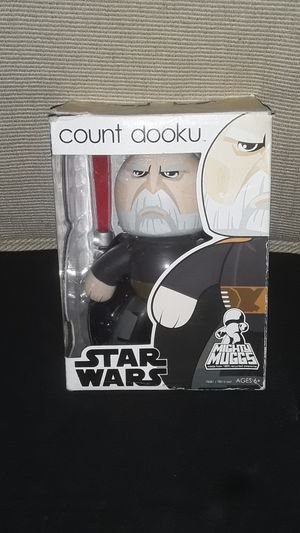 STAR WARS COLLECTABLE MIGHTY MUGGS COUNT DOOKU NEW IN BOX for Sale in Providence, RI