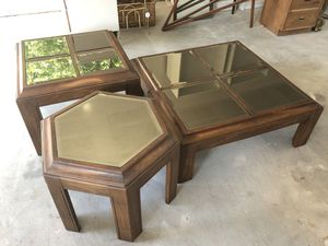 3 pc coffee table set for Sale in Cedar Park, TX
