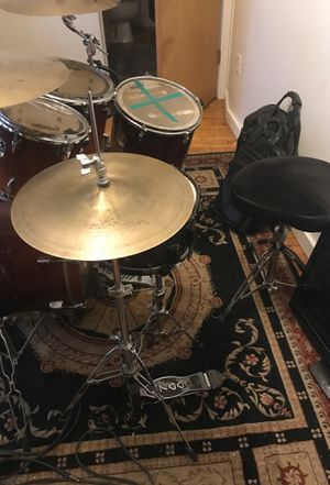 Drums for sell really good condition Yamaha stage customs advantage set had it for a few years asking $1000 comes with bags also for Sale in St. Louis, MO