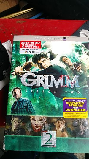 Grimm Season 2 Dvd for Sale in Welches, OR