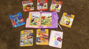 Leapfrog LeapPad Learning Game, Case, Books & Cartridges for Sale in Norwalk, CT