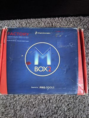 Mbox2 pro tools recording device for Sale in Orlando, FL