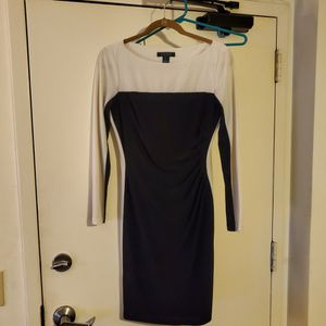 Ralph Lauren Fitted Black & White Dress for Sale in Winfield, IL
