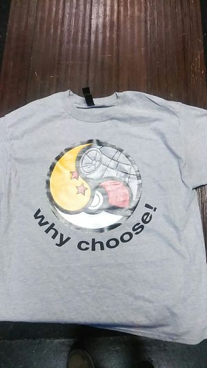 Triforce shirt with star wars, dragon ballz, pokemon for Sale in Raleigh, NC