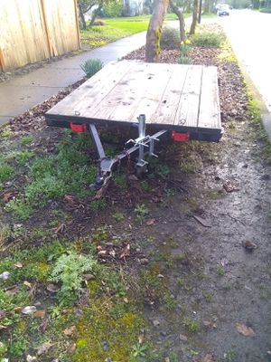 5x7 vintage trailer with original lights for Sale in Eugene, OR