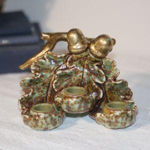 Vintage Boho Handmade Ceramic Sculpture Candle Holder for Sale in Monrovia, CA