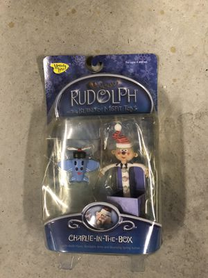 Collectible NIB Rudolph's Charlie-in-the-Box for Sale in WHT SETTLEMT, TX