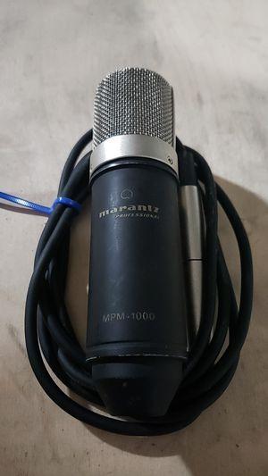 Marantz MPM-1000 Audio Mic for Sale in San Diego, CA