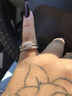 Beautiful Silver size 6 engagement ring for Sale in Atglen, PA