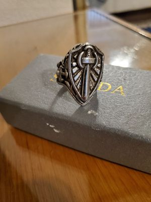 New Nice Looking Men's Silver Plated Ring size 10 for Sale in Las Vegas, NV