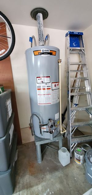 We sell new water heaters in the Box and we can also install for a great price and tankless water heaters calenton de agua for Sale in Houston, TX
