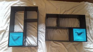 Set of Two Black Wall Shelves for Sale in Puyallup, WA