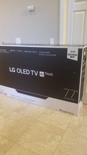 2019 oled log TV ai thing 77 inch brand new for Sale in Campbell, CA