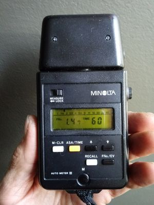 Minolta Auto Meter 3 Vintage Ambient Light Meter WORKS PERFECTLY for Sale in Chino, CA