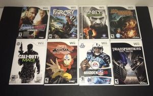 Wii Games $5 each for Sale in Port St. Lucie, FL