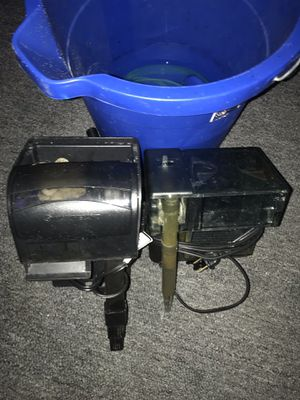 Marineland up to 30 gph , fluval 30 up to 30 gph. (New just used for 3 weeks the filter come whit live bacteria ) for Sale in The Bronx, NY