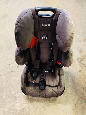 Recarro booster seat (slight sun faded) light grey color for Sale in Pacifica, CA