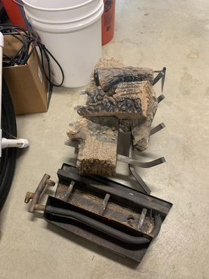 Fireplace Burner and Fake logs for Sale in Norco, CA