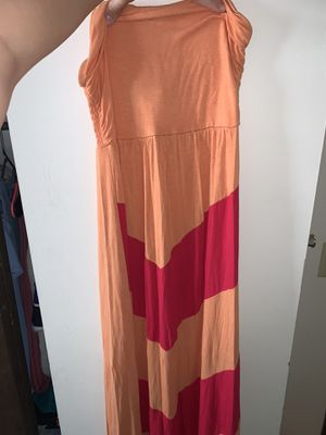 orange maxi dress for Sale in Dublin, OH