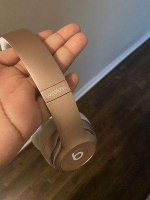 Beats Solo Rose Gold Wireless for Sale in Atlanta, GA