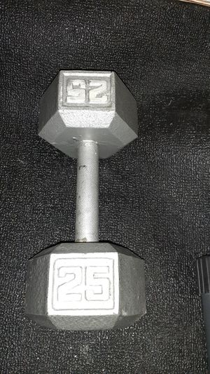 25lb dumbbell for Sale in Battle Ground, WA