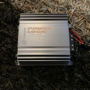 Coustic Power Logic 2 Channel Component Amplifier for Sale in Clarendon Hills, IL
