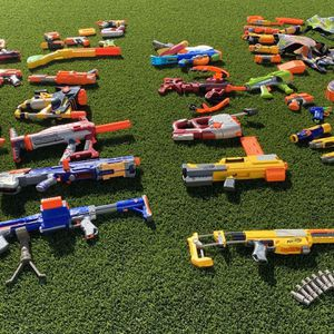 Nerf Foam Dart Blasters for Sale in San Diego, CA