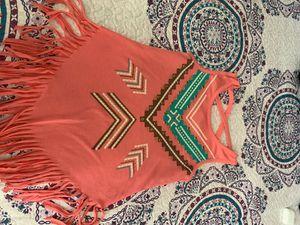 Pink fringe top for Sale in Galt, CA