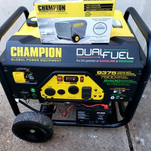 Champion Dual Fuel Portable Generator for Sale in Fort Washington, MD