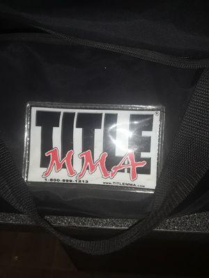 Title MMA BOXING EQUIPMENT for Sale in Sacramento, CA