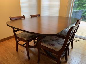 Antique dining room table and buffet for Sale in Bremerton, WA