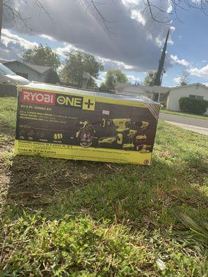 Ryobi 18v -6pc tool set for Sale in Fresno, CA