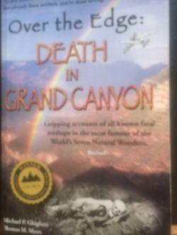 Over the Edge: Death In Grand Canyon Book for Sale in Coronado,  CA
