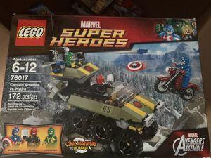 LEGO Marvel 76017 Captain America vs Hydra for Sale in Claremont, CA