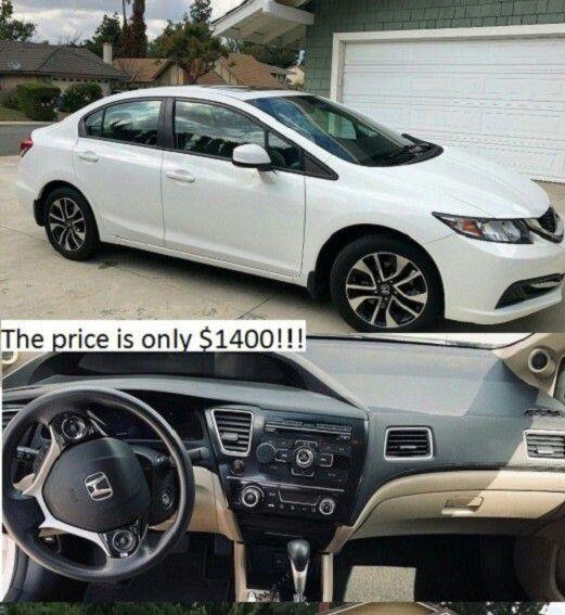 Price$1400 Honda Civic 2013