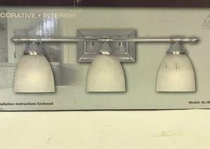New Vanity Light Fixture - Silver 3 Light Bath Bar for Sale in Decatur, GA