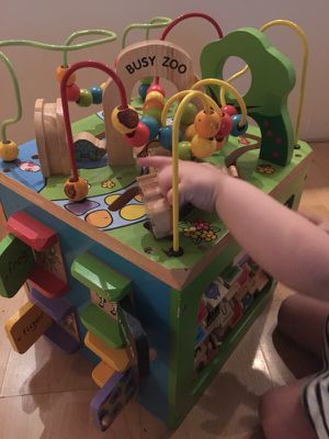 Busy zoo large wooden play set for Sale in Scottsdale, AZ