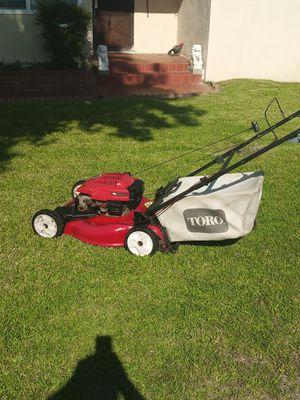 22 in Toro self-propelled lawn mower $140 for Sale in Baldwin Park, CA