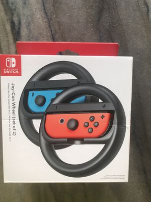 Switch joy con wheel Nintendo switch racing for Sale in Parkland, FL