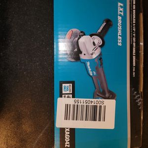 Makita 18v LXT Brushless Cordless Angle Grinder for Sale in Las Cruces, NM
