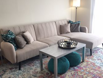 Fold Down Futon / Sofa / Couch Contemporary / Mid Century Modern for Sale in Chagrin Falls,  OH