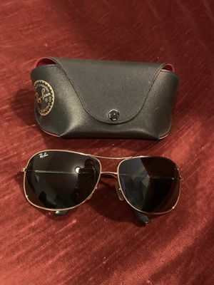 Authentic Rayban gold bowed frame with dark green lens for Sale in Sterling, VA