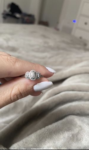 10k white gold/diamond ring for Sale in Wakefield, MA