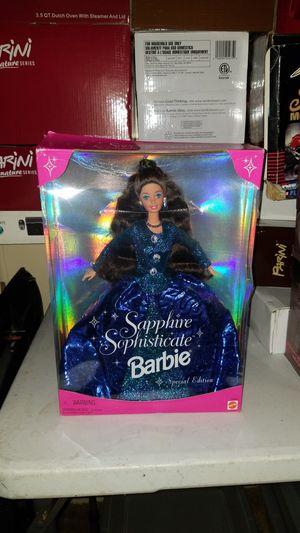 Sapphire Sophisticate Barbie - New In Box for Sale in Renton, WA