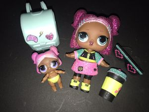 Lol Dolls Sparkle Series vrqt and lil vrqt for Sale in Portland, OR