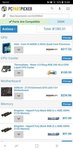 Full computer custom built setup!!! Cheap!!! for Sale in Fairfield, CA