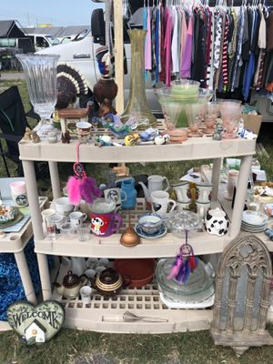 Tons of Glassware Collectibles Cups Mugs Plates Statues & More for Sale in Clearwater, FL