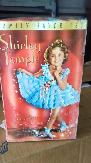 Vintage Shirley Temple Triple Pack Movies for Sale in Cairo, GA